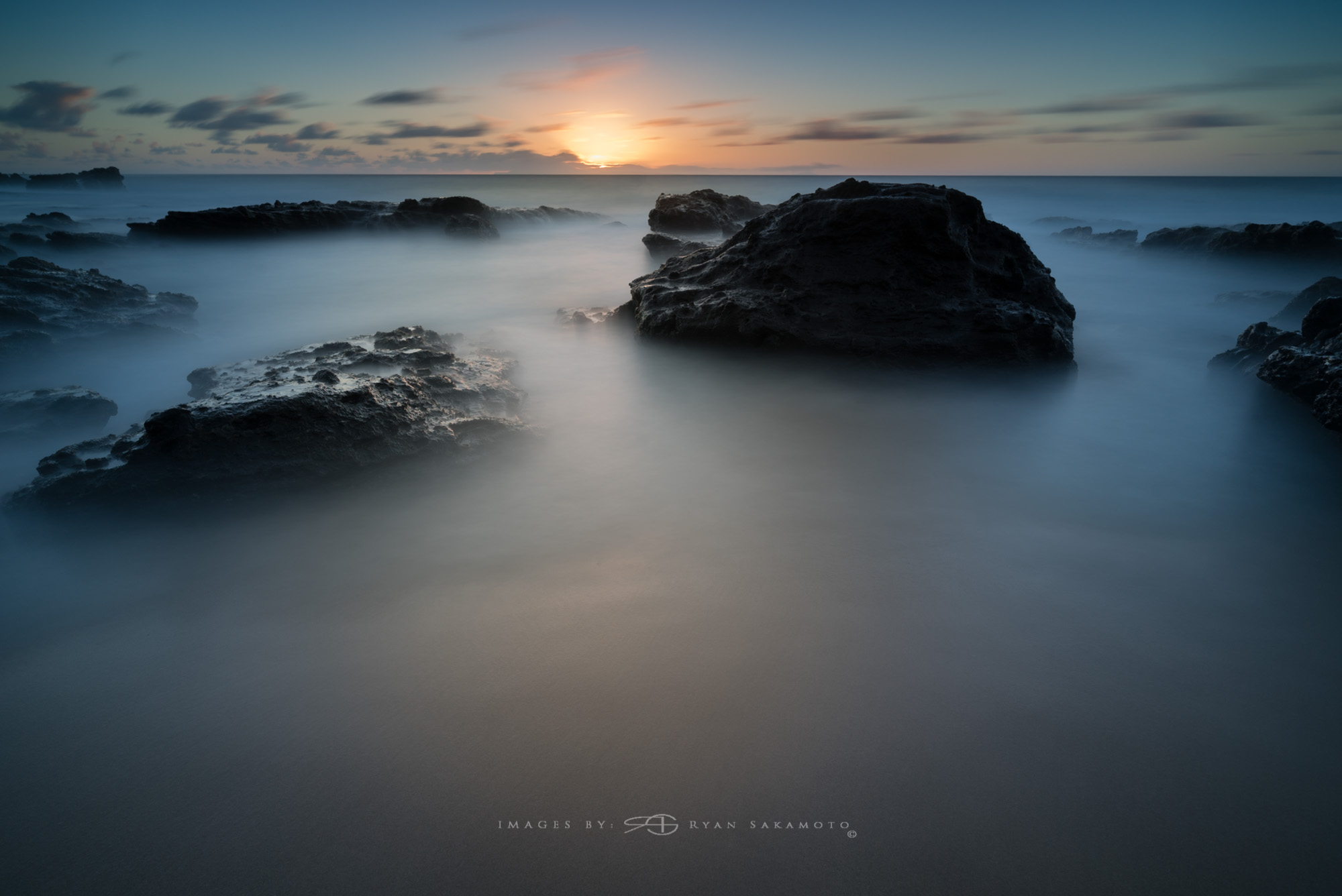 Sunrise Photography Collection   Lee Filter Big Stopper & 3 stop medium grad   Sony A7S II |  122 sec. |  f/8  |  ISO 50  |  Zeiss Batis 2.8/18mm    Edited in Lightroom CC 2015   Copyright 2016 Ryan Sakamoto, All rights reserved