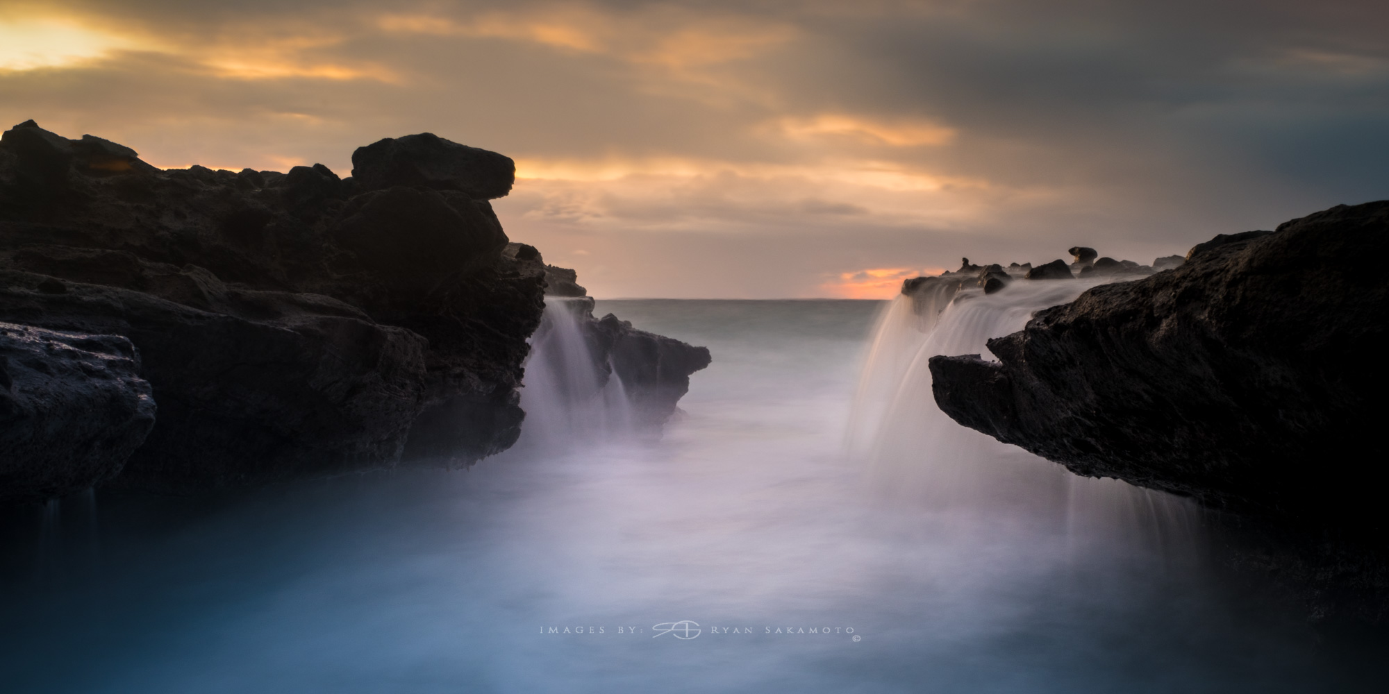 Sandy Beach Sunrise  Lee Filter Little Stopper & 3 stop soft grad  Fuji XT2  |  8 sec. |  f/9 |  ISO 200  |    XF16-55mm f/2.8 R LM WR  Edited in Lightroom & Photoshop CC 2017  Copyright 2016 Ryan Sakamoto, All rights reserved