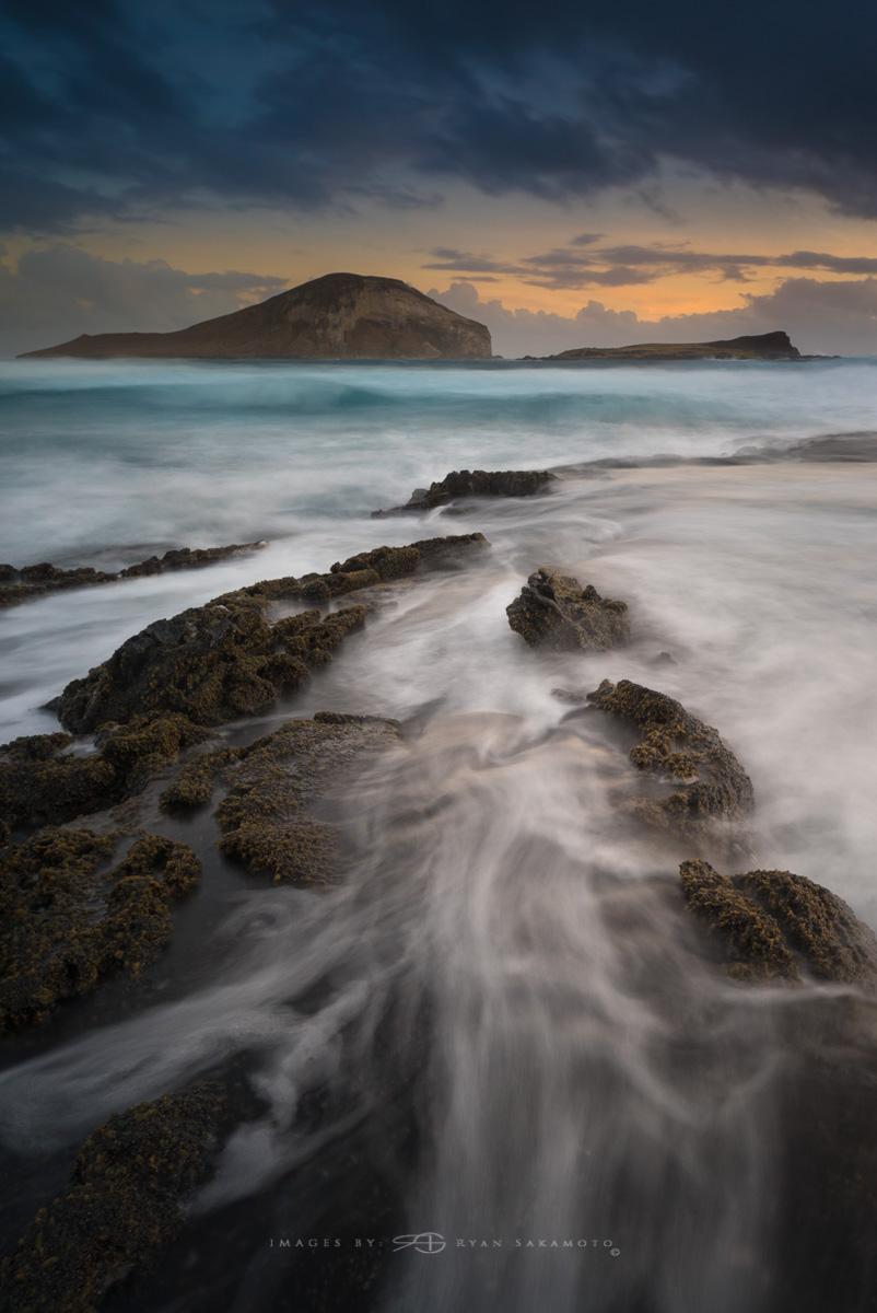 Makapu'u Beach Park Lee Filter Big Stopper & 4 stop medium grad Sony A7S II |  3.2 sec. |  f/8  |  ISO 50  |  Zeiss Batis 2.8/18mm  Edited in Lightroom & Photoshop CC 2017  Copyright 2016 Ryan Sakamoto, All rights reserved