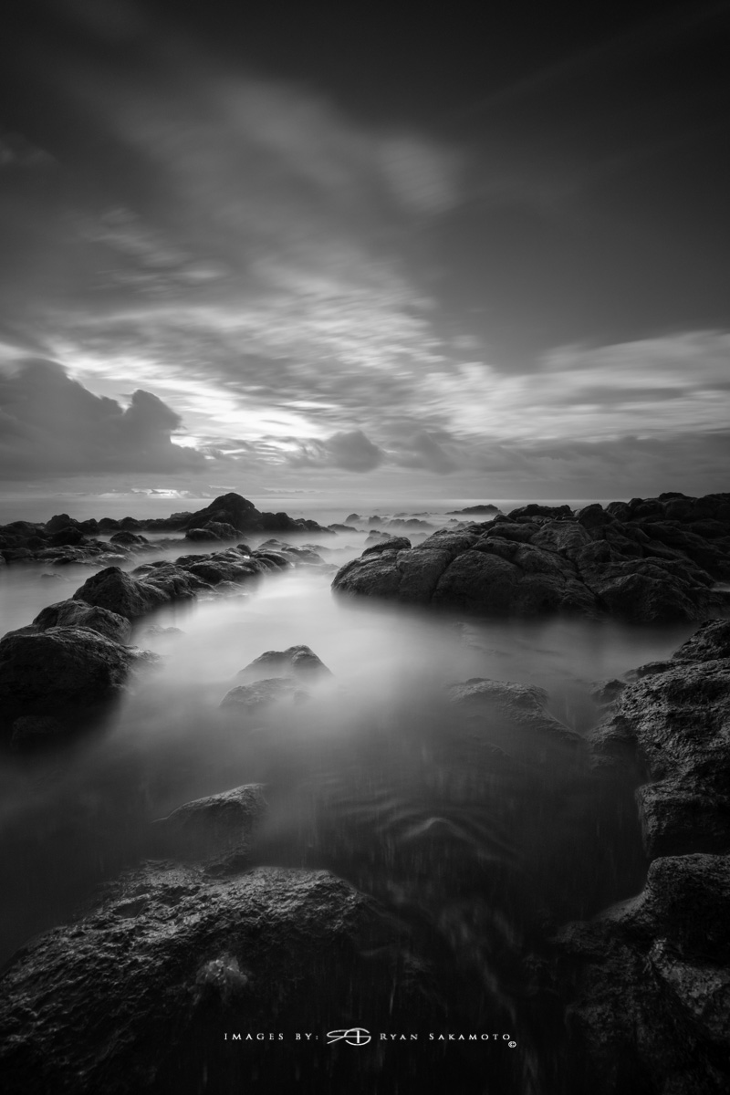 Sunrise from Sandy Beach Park, Honolulu, Hawaii  Fuji XT2    |    60 sec.    |    f/8   |   ISO 160 |   Fujinon XF 10-25mm F/4 R OIS @10mm Lee Super Stopper & 4 stop soft GND  Edited in Lightroom & Photoshop CC 2017 Copyright 2017 Ryan Sakamoto, All rights reserved