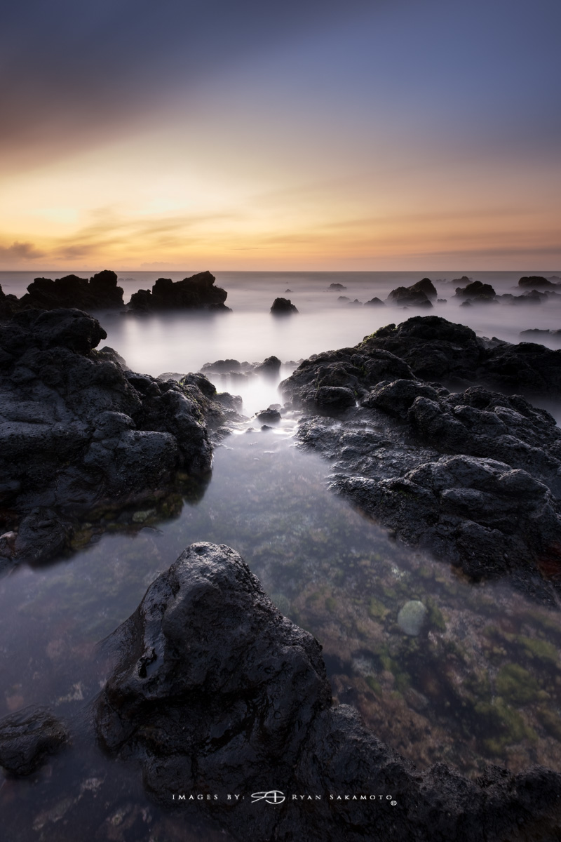 Sunrise from Sandy Beach Park, Honolulu, Hawaii  Fuji XT2  |  240 sec. |  f/8  |  ISO 100 | Fujinon XF 10-25mm F/4 R OIS @10mm   BREAKTHROUGH stacked filters, 3-stop soft 100x150mm GND, 3-stop hard reverse 100x150 Grad & 6-stop 100mm ND  Edited in Lightroom & Photoshop CC 2017 Copyright 2017 Ryan Sakamoto, All rights reserved