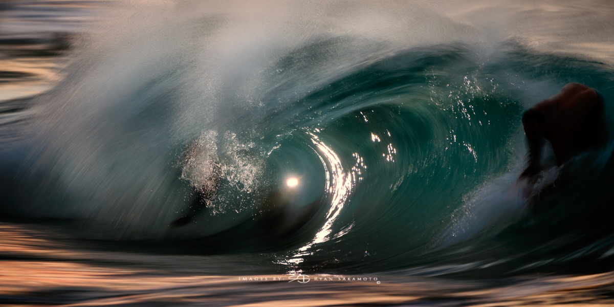 Sunrise from Sandy Beach, Hawaii Long Exposure Fine Art Wave Photography Collection  Sony A7R III | 1/3 sec. | f/8 | ISO 160 |Sony FE 100-400mm GM OSS + 1.4X Teleconverter Breakthrough Photography 100x100, 3 stop ND Filter  Edited in Lightroom Classic & Photoshop CC 2018 Copyright 2018 Ryan Sakamoto, All rights reserved
