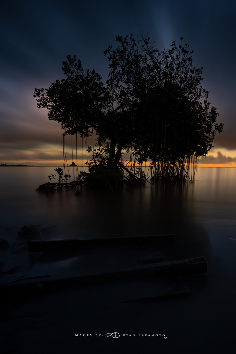 Sunrise from Waiahole Hawaii Long Exposure Fine Art Wave Photography Collection  Sony A7R III | 181 sec. | f/8 | ISO 100 | Sony FE 16-35mm GM F/2.8 Breakthrough Photography 100x150, 3 stop Soft ND Grad Filter  Edited in Lightroom Classic & Photoshop CC 2018 Copyright 2018 Ryan Sakamoto, All rights reserved