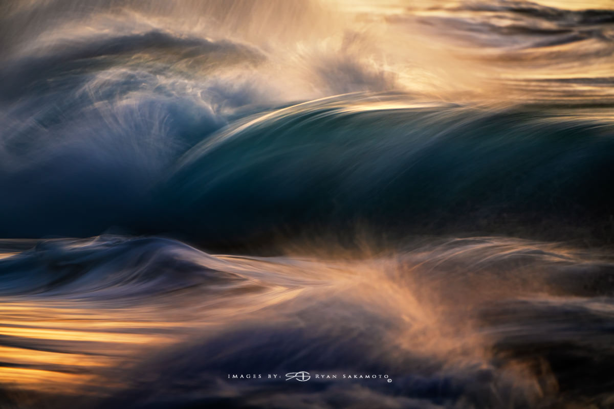 Sunrise from Sandy Beach, Hawaii Long Exposure Fine Art Wave Photography Collection  Sony A7R III | 1/4 sec. | f/8 | ISO 400 |Sony FE 100-400mm GM OSS + 1.4X Teleconverter Breakthrough Photography 100x100, 3 stop ND Filter  Edited in Lightroom Classic & Photoshop CC 2018 Copyright 2018 Ryan Sakamoto, All rights reserved