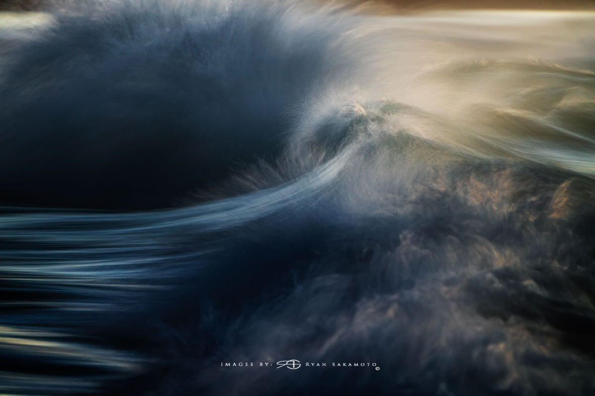 Sunrise from Sandy Beach, Hawaii Long Exposure Fine Art Wave Photography Collection  Sony A7R III | 1/4 sec. | f/8 | ISO 800 | Sony FE 100-400mm GM OSS + 1.4X Teleconverter Breakthrough Photography 100x100, 3 stop ND Filter  Edited in Lightroom Classic & Photoshop CC 2018 Copyright 2018 Ryan Sakamoto, All rights reserved