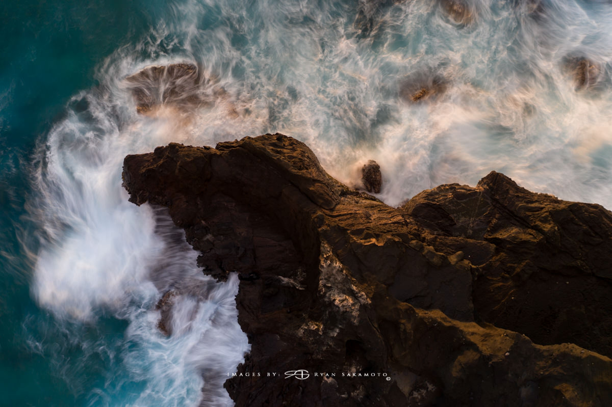 Sunrise from Makapuu, Hawaii DJI Mavic Pro 2 | PolarPro Exposure Collecton 1000 10 stop ND Filter Edited in Lightroom Classic & Photoshop CC 2018 Copyright 2018 Ryan Sakamoto, All rights reserved