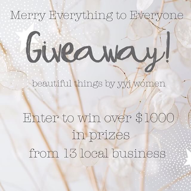 Next....@ingridrosefloralartistry  It's GIVEAWAY TIME! 🎄🙌✨ Some of your favourite Victoria boss ladies - and maybe some you've yet to meet - have teamed up to bring you a sweet package of goodies for the holidays! . To enter: 1. Like this photo and be following this account. 2. Head to @ingridrosefloralartistry  3. Follow steps 1-2 until you get back here! And that's it! Good luck, fam! . Giveaway will end Weds, Dec. 20th at 11:59pst. Winner will be announced within 48 hours. . Prizes include:  Leather bag by @lexyouup ($139); Sophia ring by @covetandkeep ($79); Gift Card from @amelialeeboutique;  Shop Credit from @ebb__andflow ($100); Necklace by @bylaceyjanette ($149); Gift Card from @milkandhoneybrowbar ($100); Mug set and earrings from @sarahleckieceramics ($96); Dried floral wreath by @ingridrosefloralartistry ($85) Bracelet and earring set by @shoplittlegold ($150) Hair product bundle from @copperandashcollective ($150); Travel candle and body butter by @picotcollective ($75); Holiday cards by @mulberrypapery;  Locally sourced skincare by @miiko.skinco . *Open to Canadian residents only. If winner drawn is located outside of the Victoria area, a second draw will be done for items that cannot be shipped.