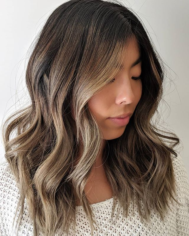 Mushroom Bronde, is that a thing? How else would you describe this colour?  #balayage #coolblonde #ashblonde #ashblondebalayage #brondebalayage #brondehair