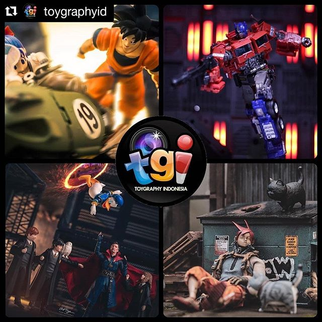 Thanks for the feature @toygraphyid and congrats to our friends! ↖️ @baektosan ↗️ @toybacon ↙️ @af_toys ↘️ @novanyudha