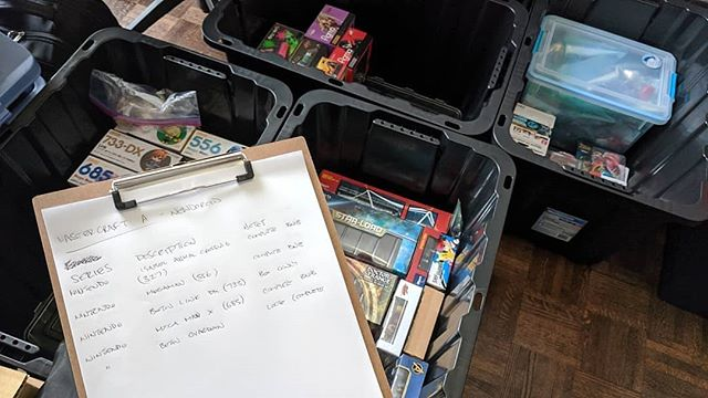 How do you keep your collection organized?