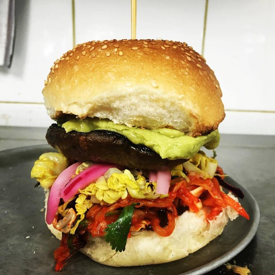 The Kung-Fu Vegan Burger