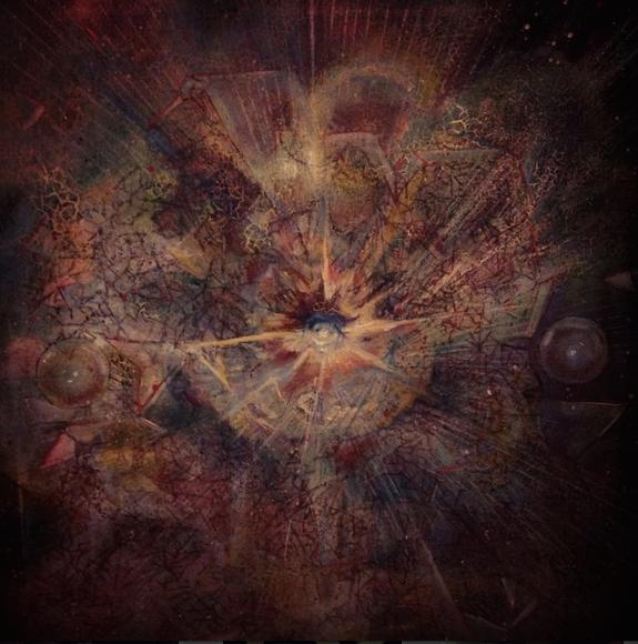 """Supernova  36"""" x 36"""""""