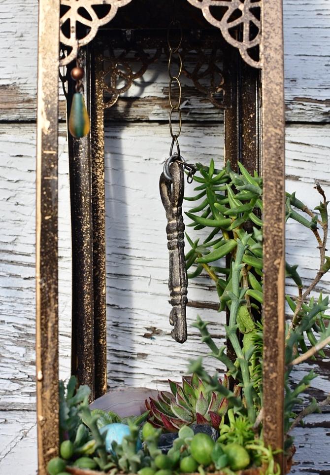 secret garden closeup vertical