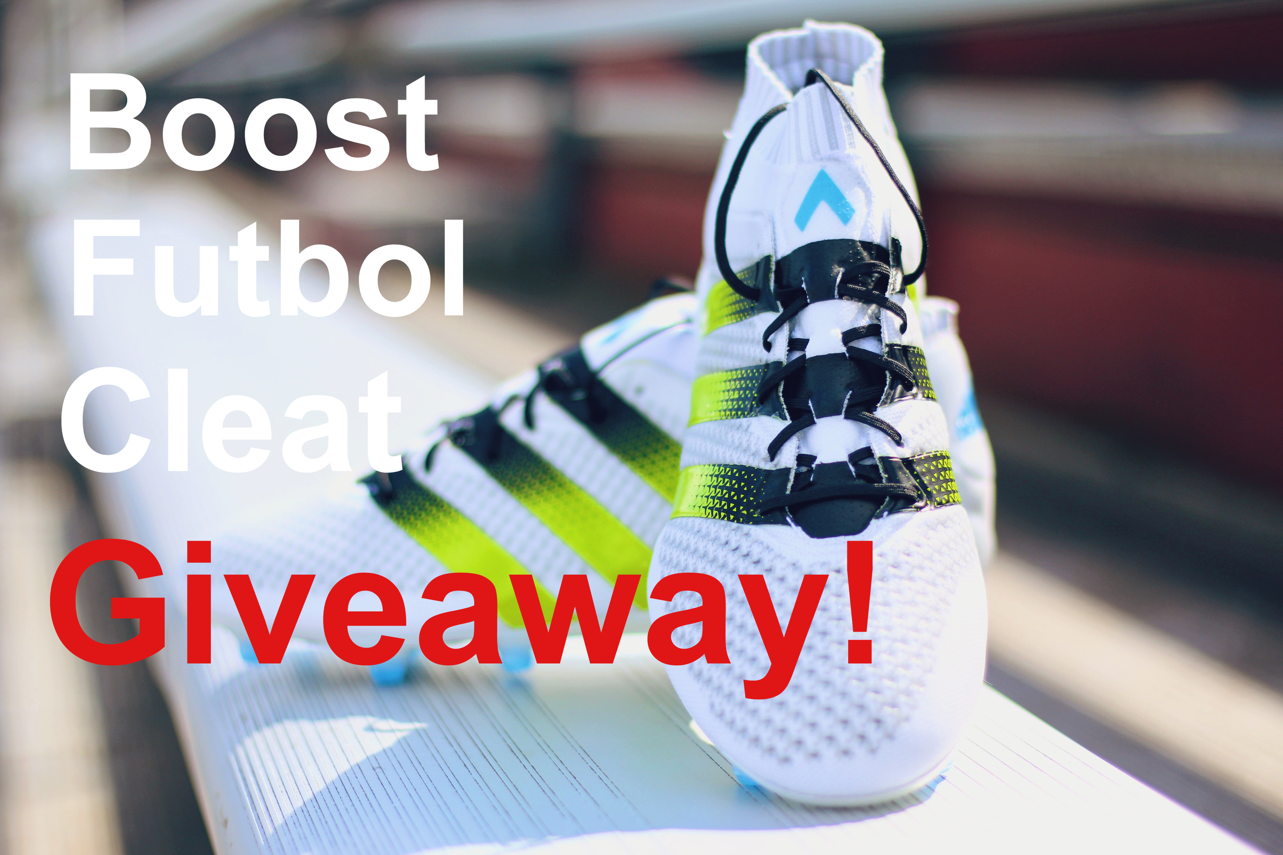One lucky winner will get these cleats for FREE!