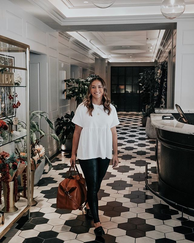 "happy monday ◠ reminiscing on my stay at the @woodlark_hotel last week while i was there working on a project for my new business! could this lobby be any more ""me""? #woodlarkhotel #provenancehotel @provenancehotel #ad"