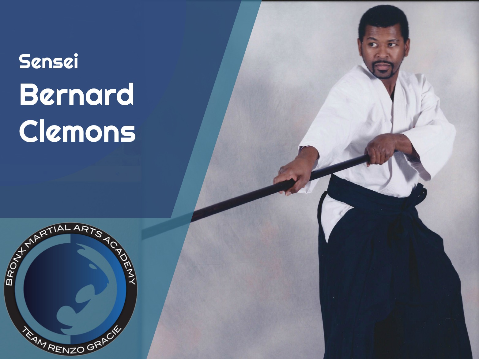 Shotokan Karate Black Belt  Sensei Bernard Clemons started training Shotokan Karate in 1992 at Kai Leung's Shotojuku in Astoria, Queens under Sensei Gene Dunn. After earning his Black Belt on December 9, 1995 under Shihan Kai Leung that's when his journey really began. His never ending thirst for knowledge in the martial arts has also taken him into the study of Kobudo (weapons) and Goshin Jitsu (the art of self defense). After training Under Shihan Toshihiro Oshiro in Kobudo for twenty two years, Sensei Clemons is now one of the top weapon experts in the country. He has also won many Grand Championships with his weapon Kata's. Sensei Clemons looks to bring his love for the martial arts to the Bronx to help extend his knowledge and enthusiasm to our students.