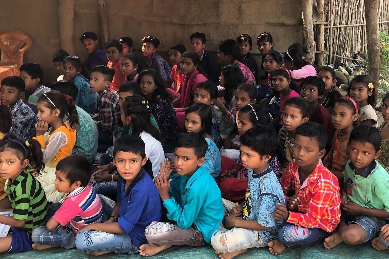 Village Parmawala kids