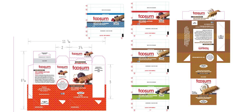 TOOSUM - Packaging