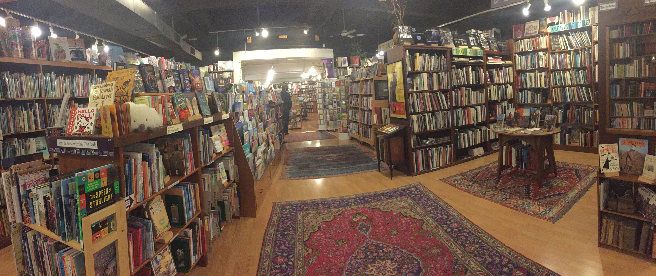Loganberry Books interior