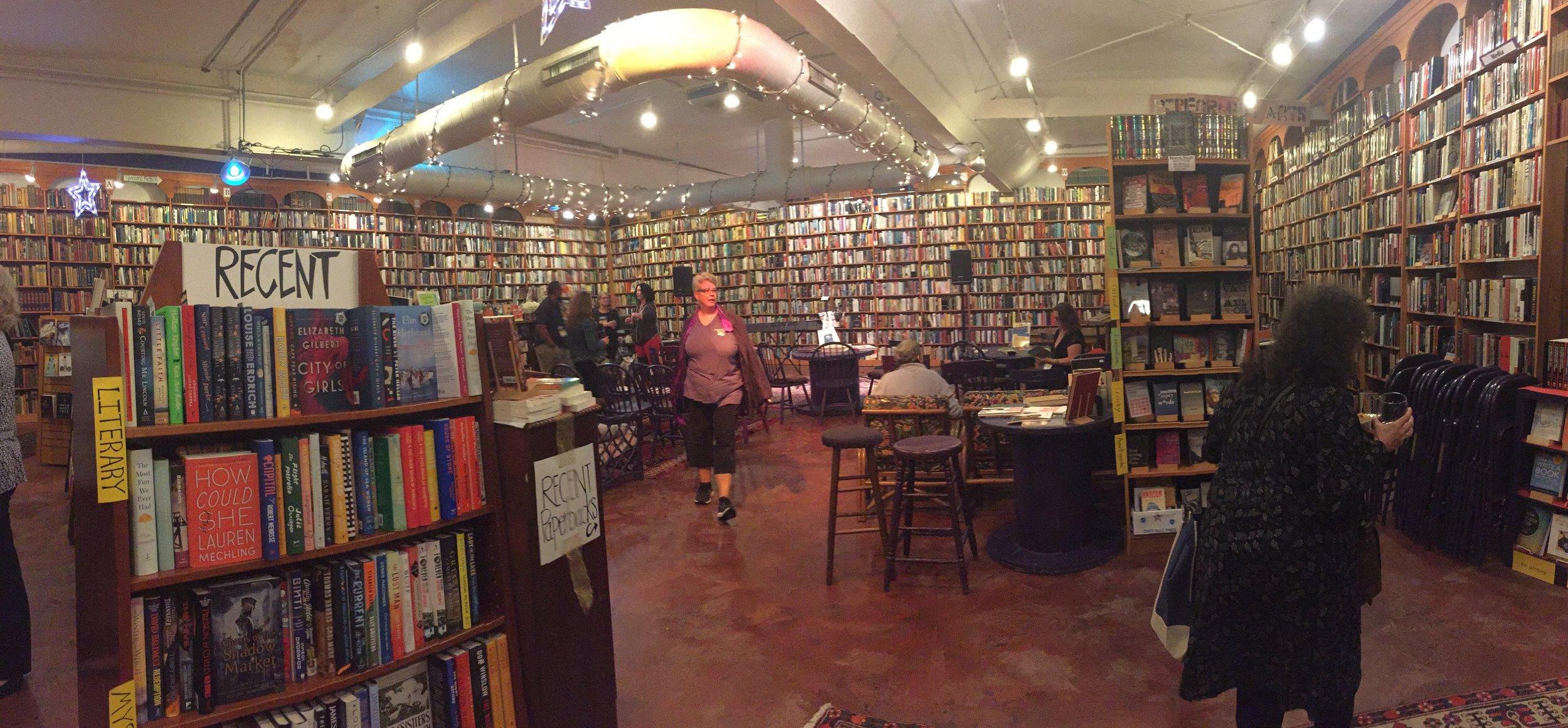 Loganberry Books interior 2
