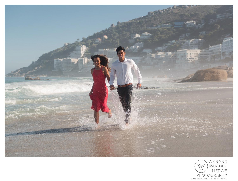 Engagement shoot at Llandudno and Clifton Beach