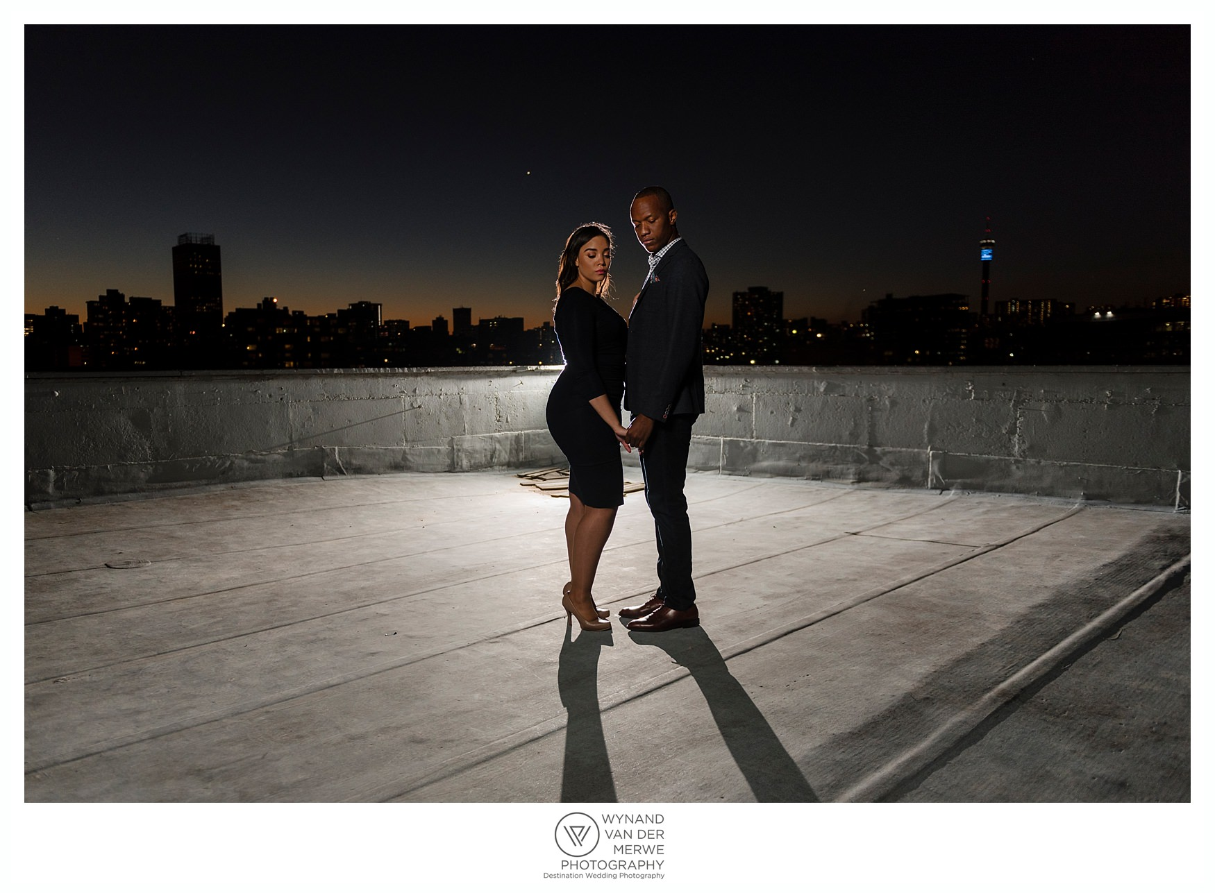 Beautiful engagement photos of Yannick and Crystal
