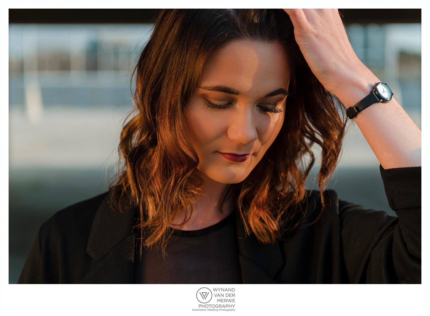 Urban portraits shoot with Dené Vorster