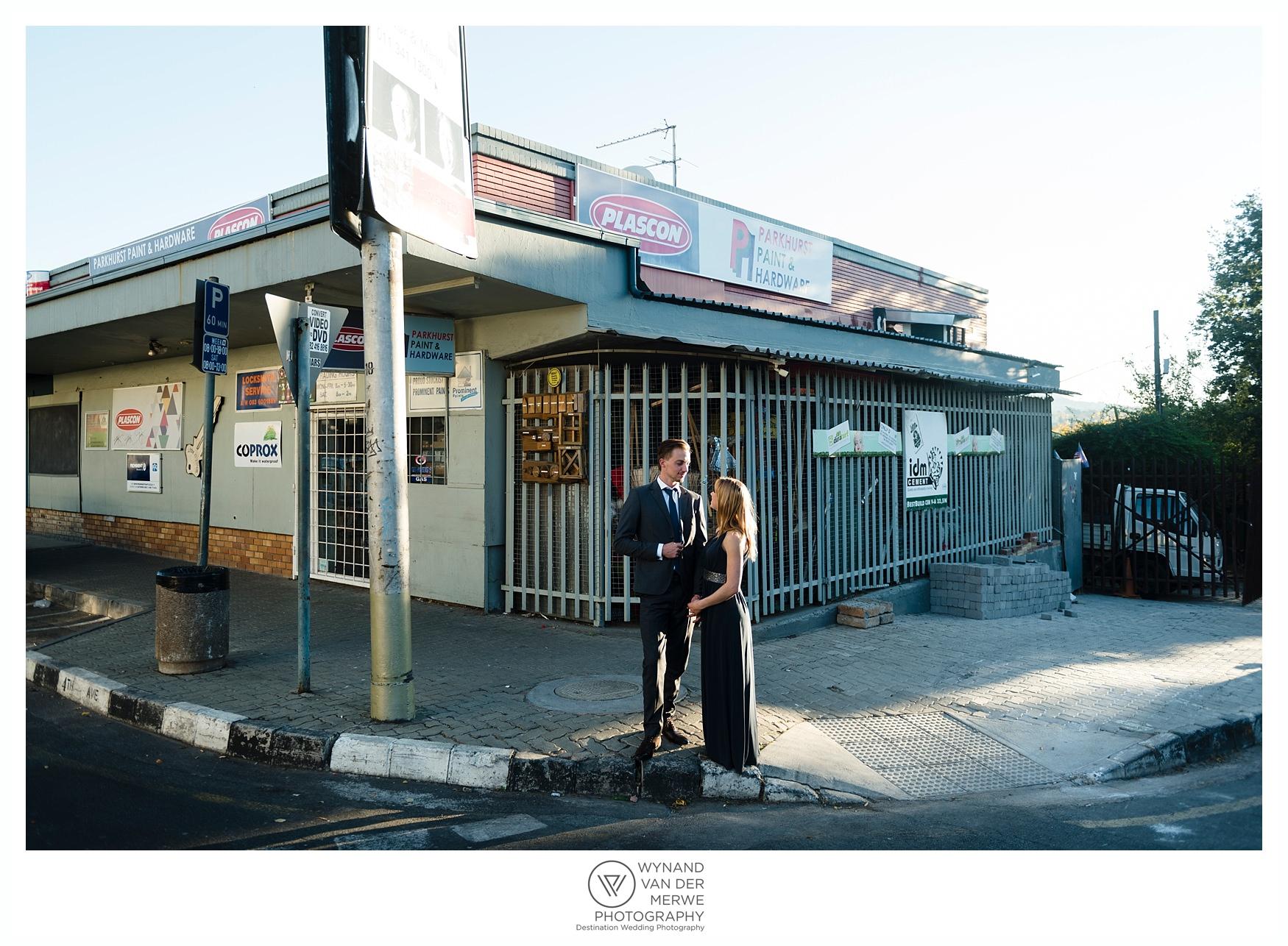 Super Stylish Johannesburg Engagement Shoot