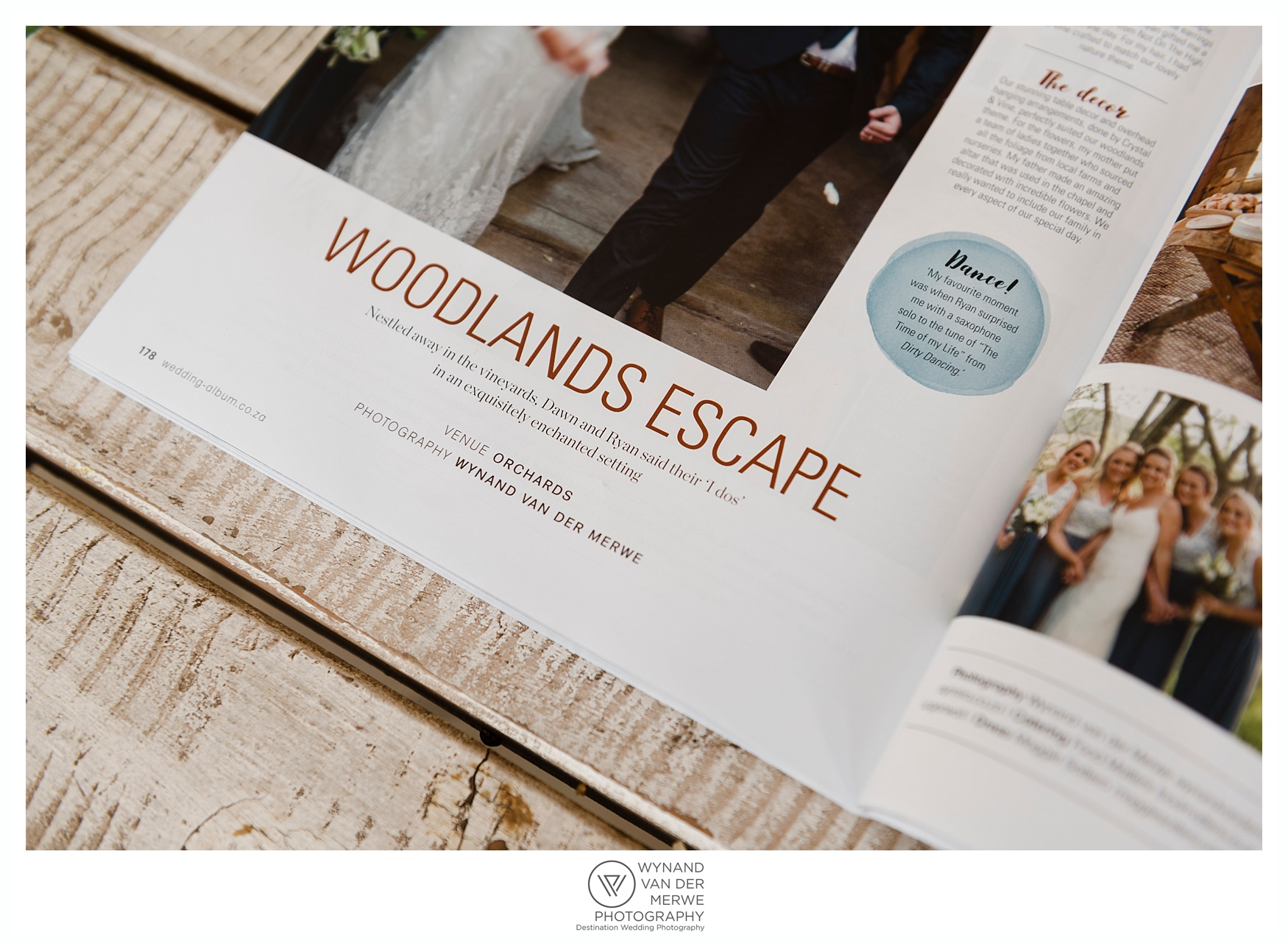 Wedding Album Magazine feature