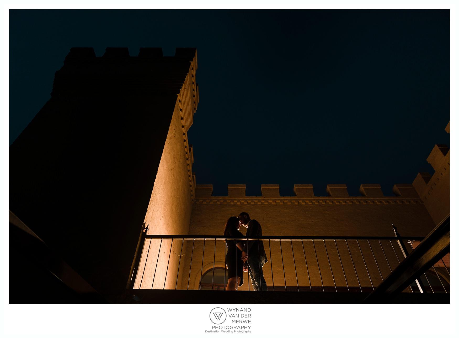 Michael & Elmarie eshoot at the Moors Castle