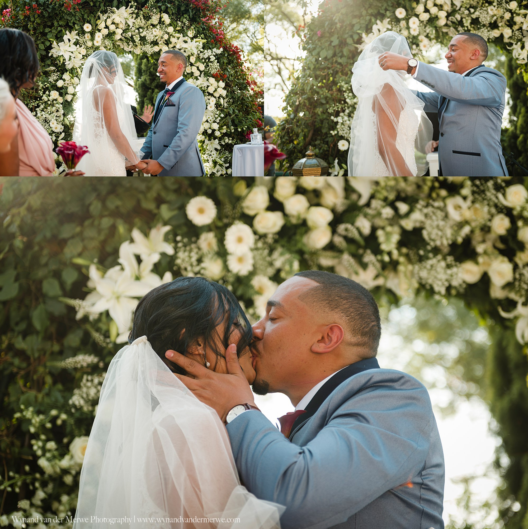 Marvin and Sade Shepstone Gardens wedding