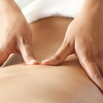 Sports Massage  Not only is massage incredibly relaxing and helps with pain relief, it's also an important way to mobilise our muscles so we exercise better.   Find out more→