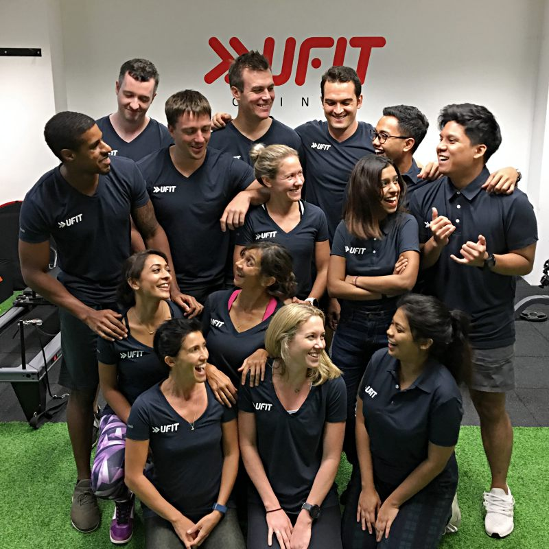 UFIT Clinic's team of physiotherapy, osteopathy, and sports massage therapists.