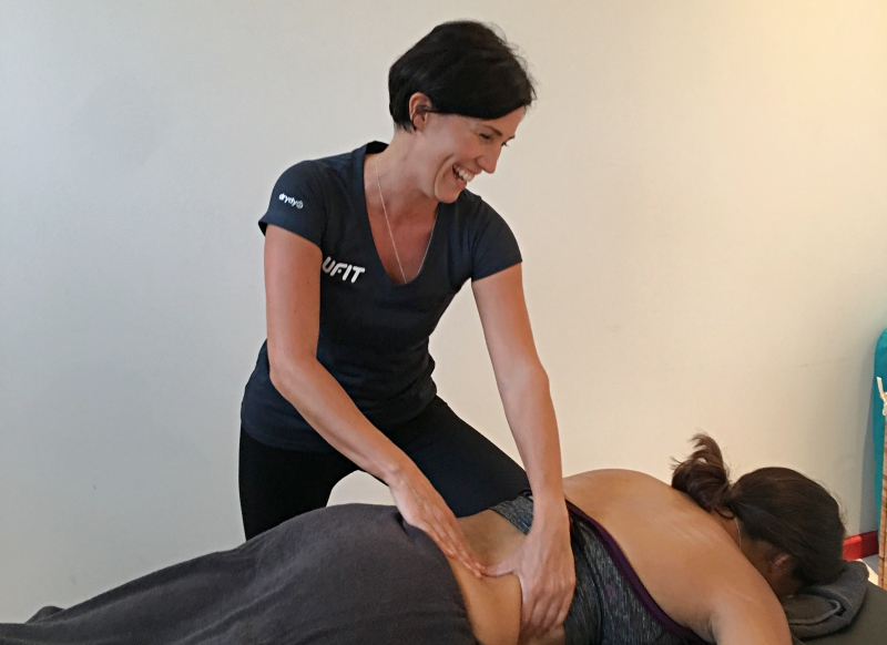 A sports massage session after a workout can work wonders on those knots.