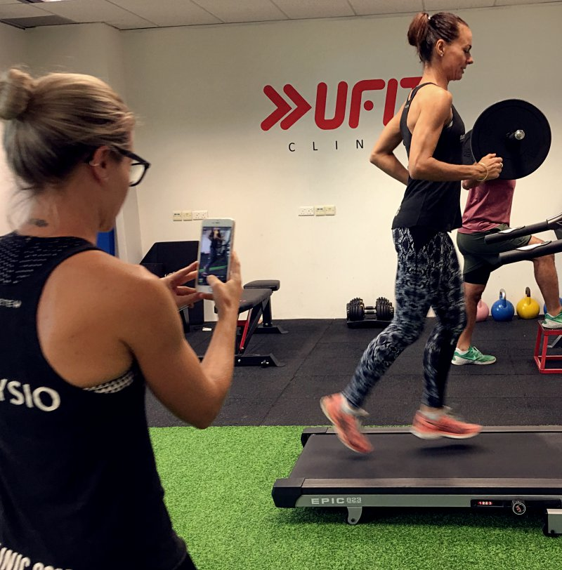 Improve your running foam and performance with a  Running Gait Analysis  at UFIT Clinic.