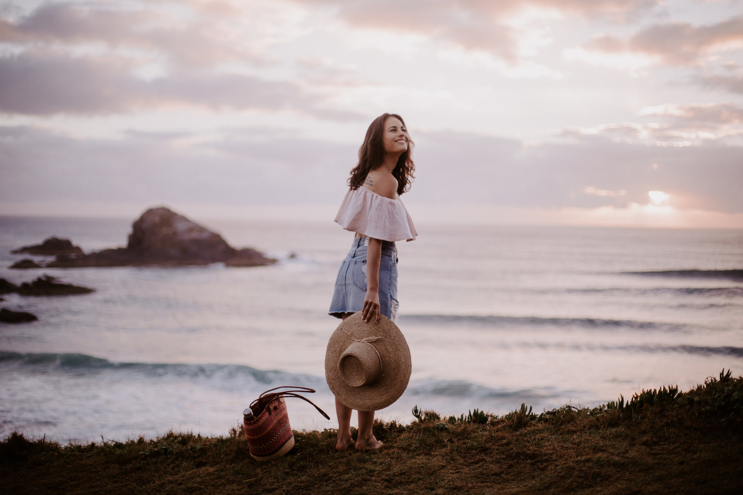 A morning with Lorena - Exploring the Byron Bay hinterland with the vegan chef from @datesandavocados