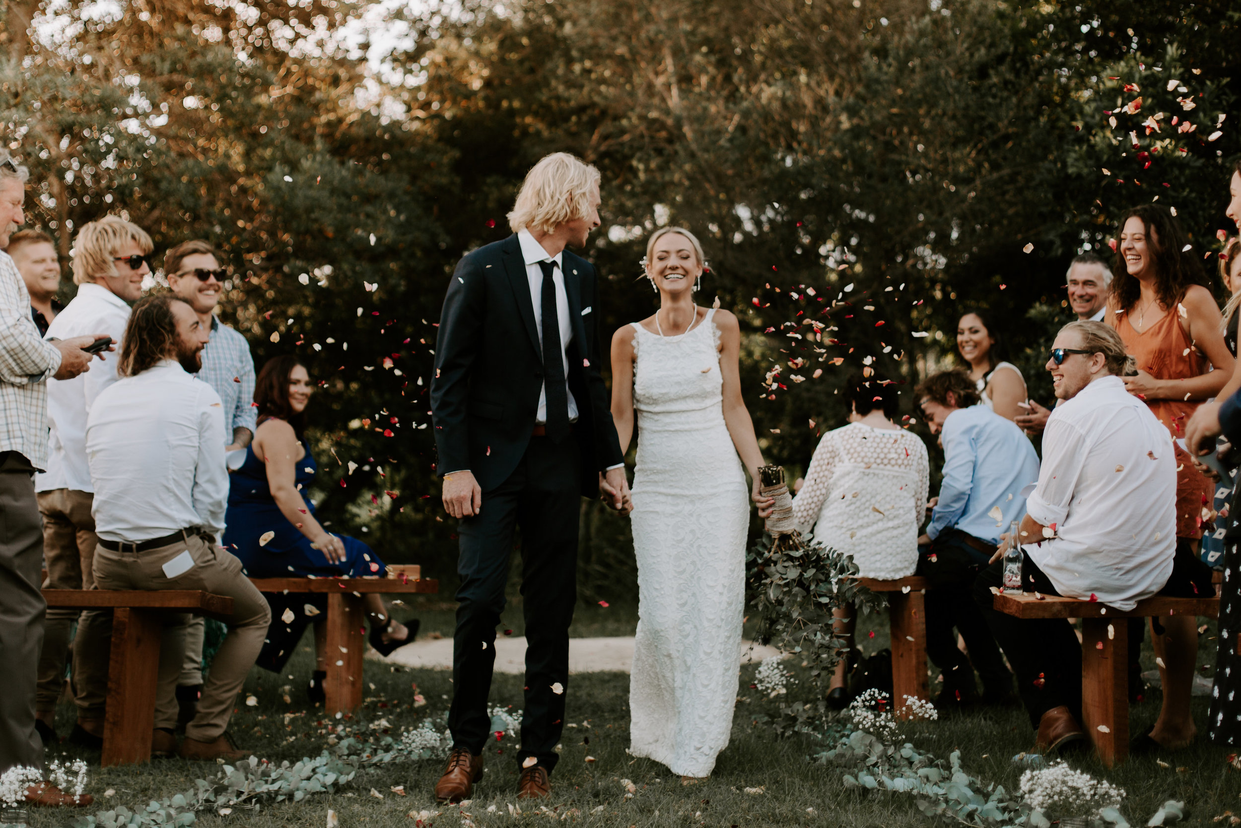 An intimate Bruns Wedding - April 7 2018