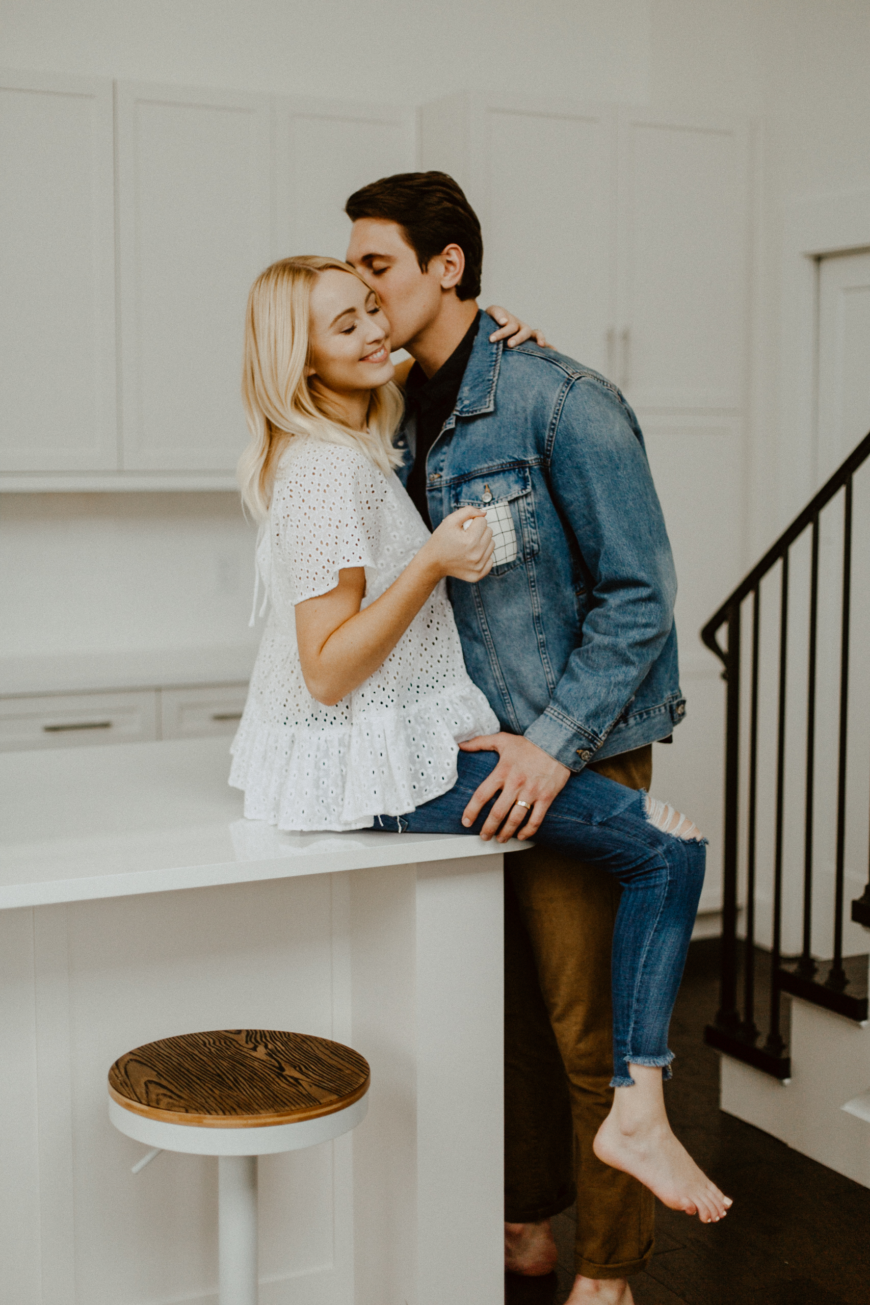 Kitchen Engagement Session