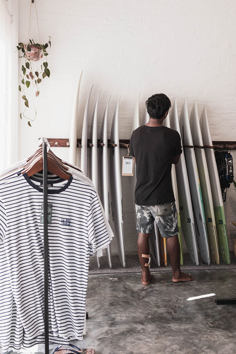 nalua Surf shop Lombok