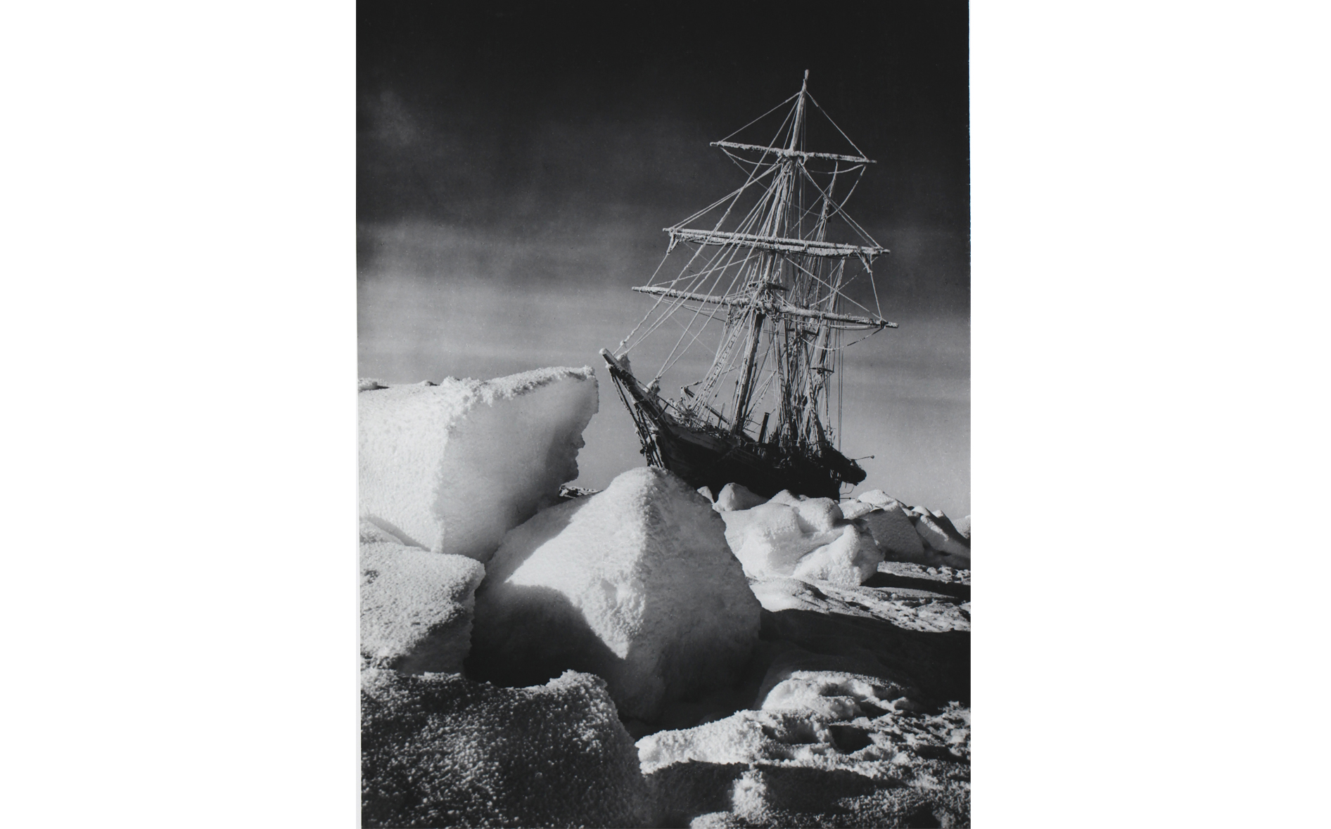Frank Hurley, printed for The Royal Geographic Society