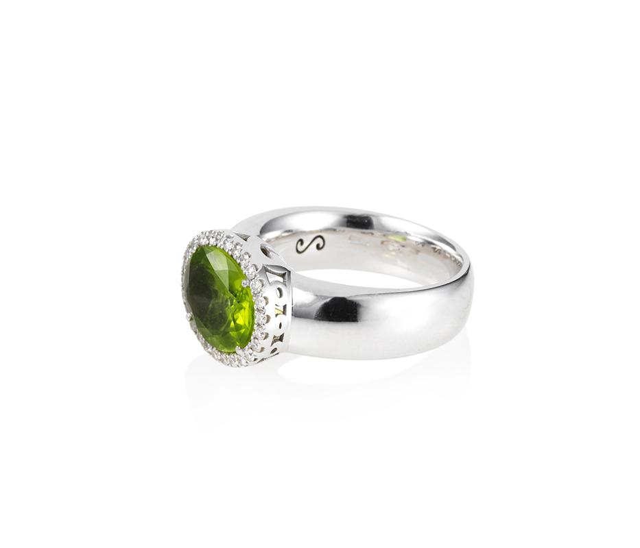 Peridot Cocktail Ring
