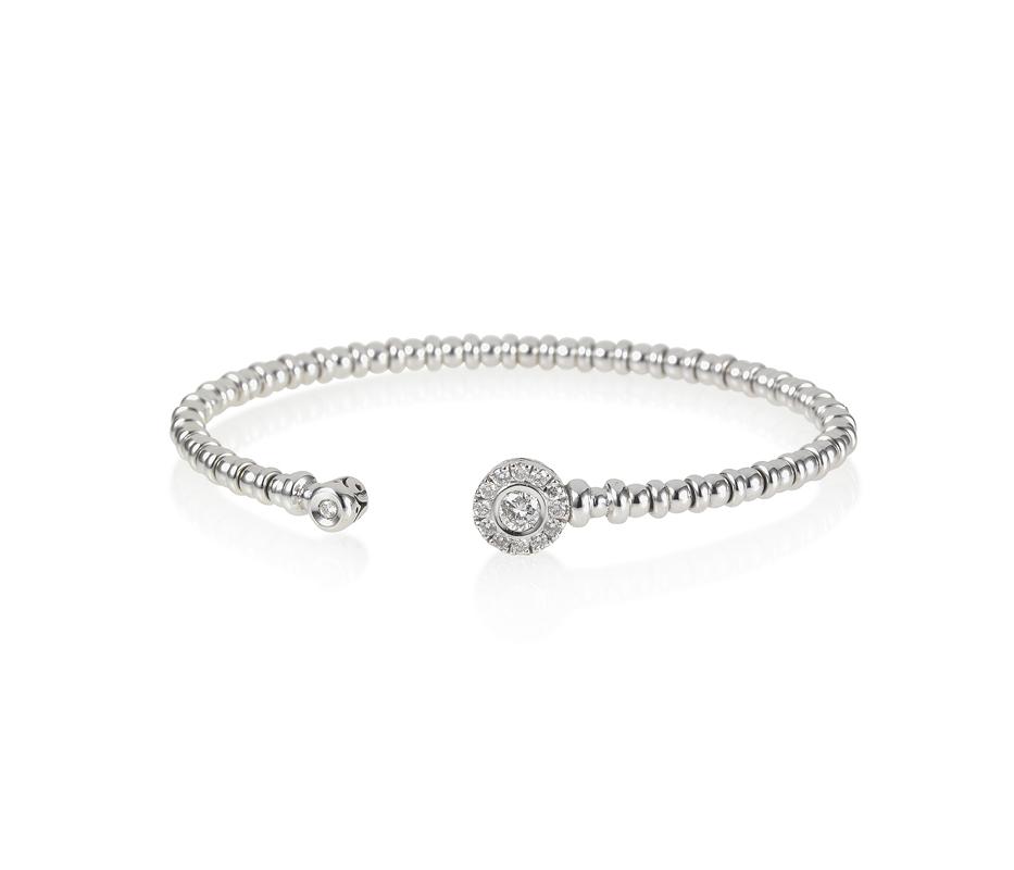 Diamond Open Flexi Bracelet