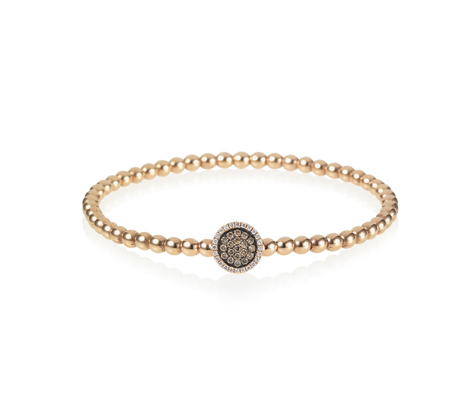 Venezia Rose Gold Flexi Bracelet