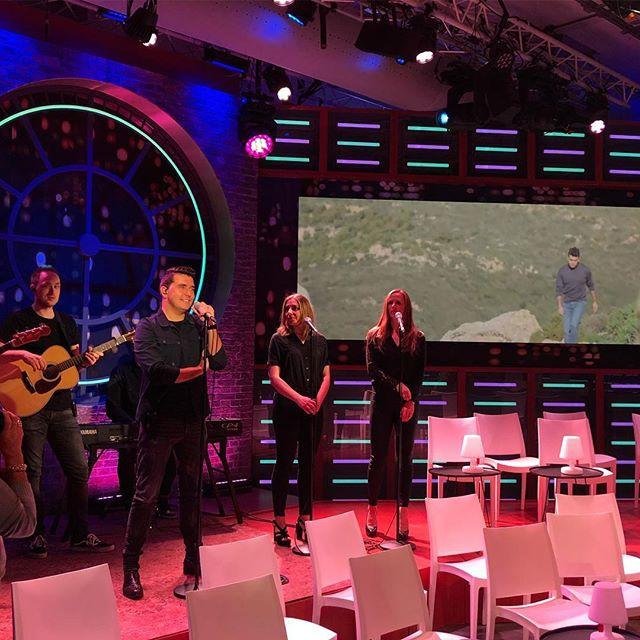 Zometeen live bij RTL Late Night @jansmitcom met 'Betere Tijden'🎤#metanderewoorden #beteretijden #jansmit #soundcheck