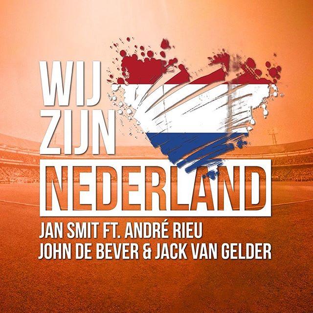 De opbrengsten van de Oranje-single 'Wij Zijn Nederland' van Jan Smit, André Rieu, John De Bever en Jack van Gelder worden gedoneerd aan het Oranje Fonds 🧡! @oranje_fonds #blijvenstreamen #wijzijnnederland #jansmit #donatie #single #johndebever #andrerieu