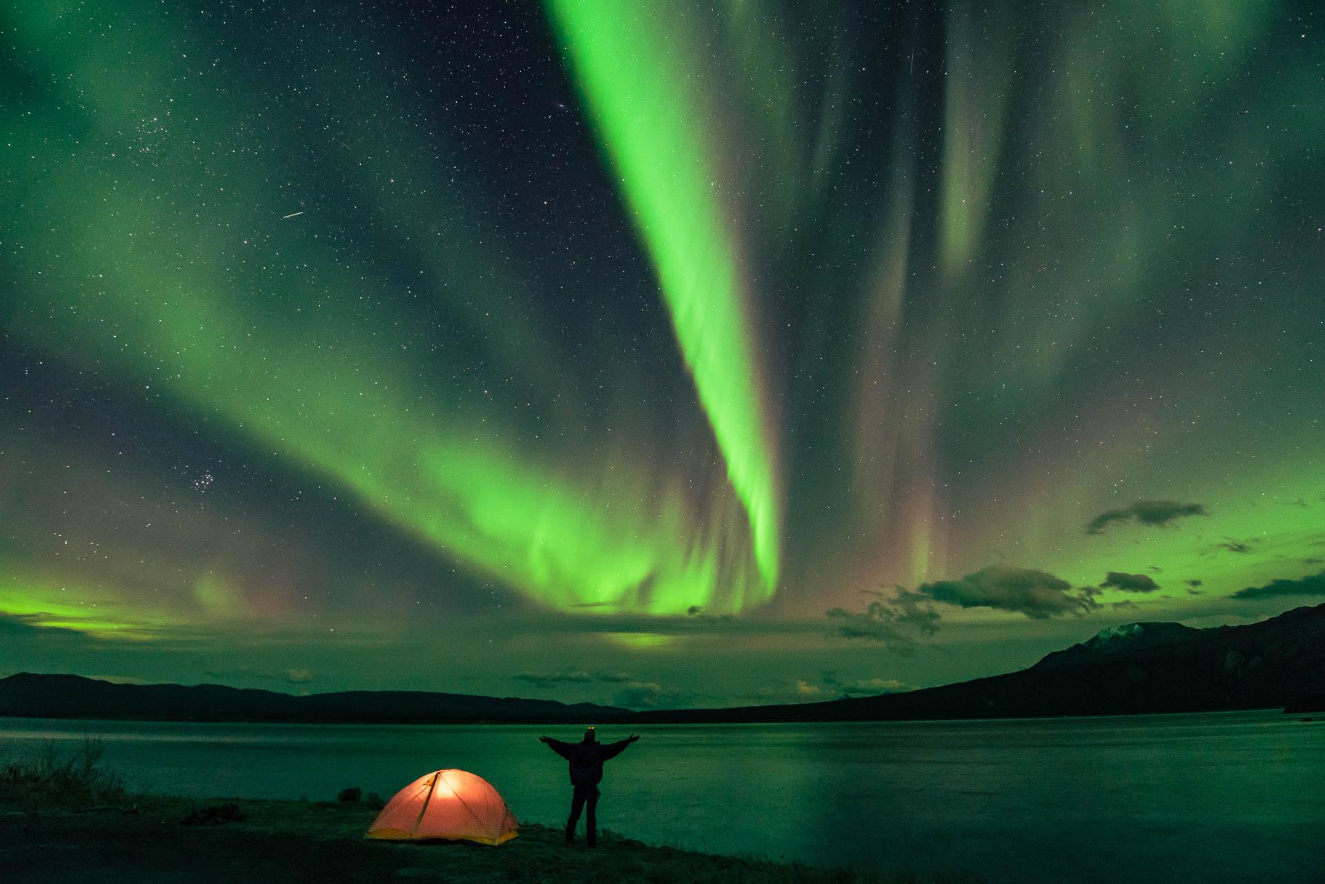 Kluane Lake, Yukon Territories, Canada