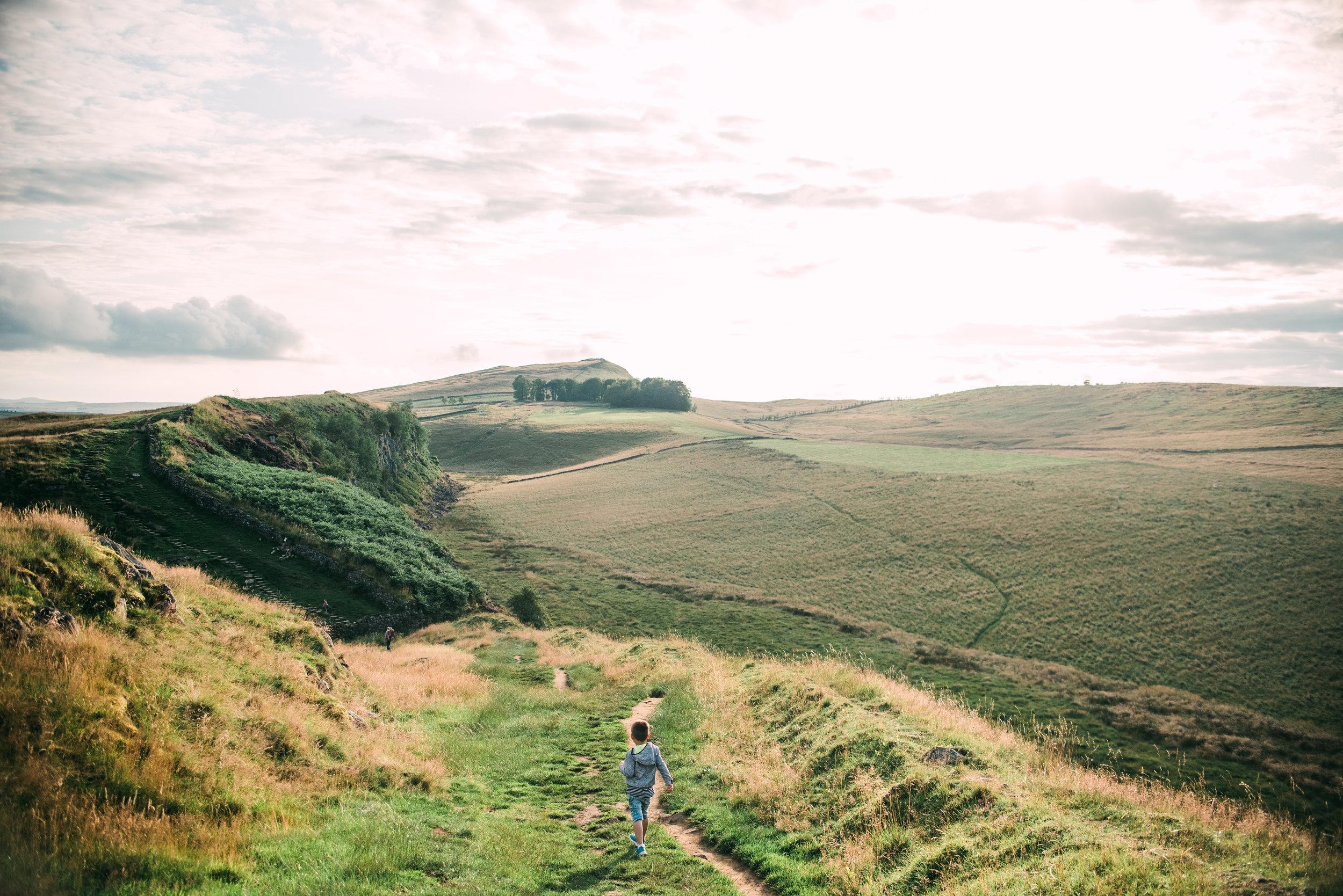 Hadrian's Wall - Northumberland, UK