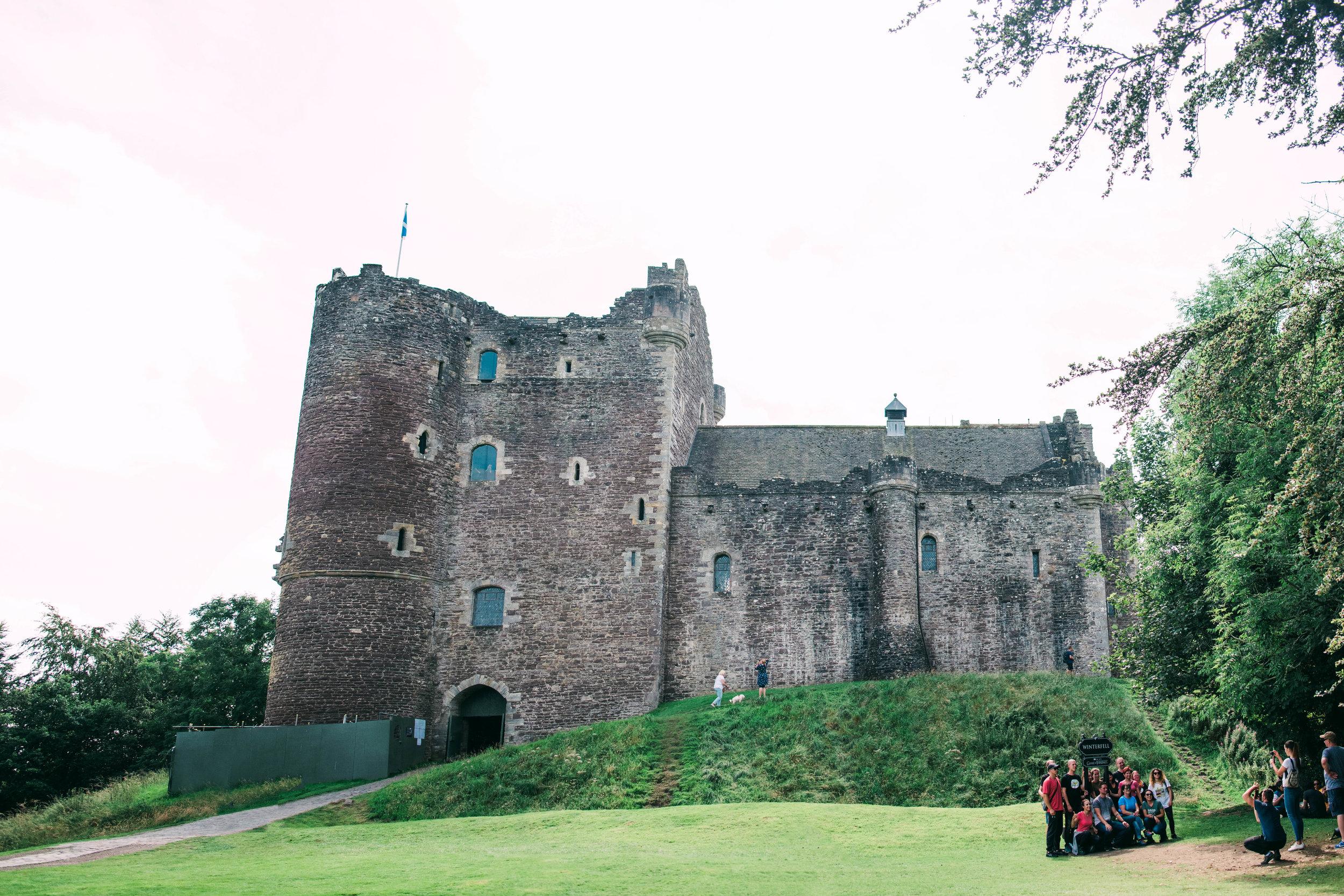 Castle Doune - Doune, Scotland