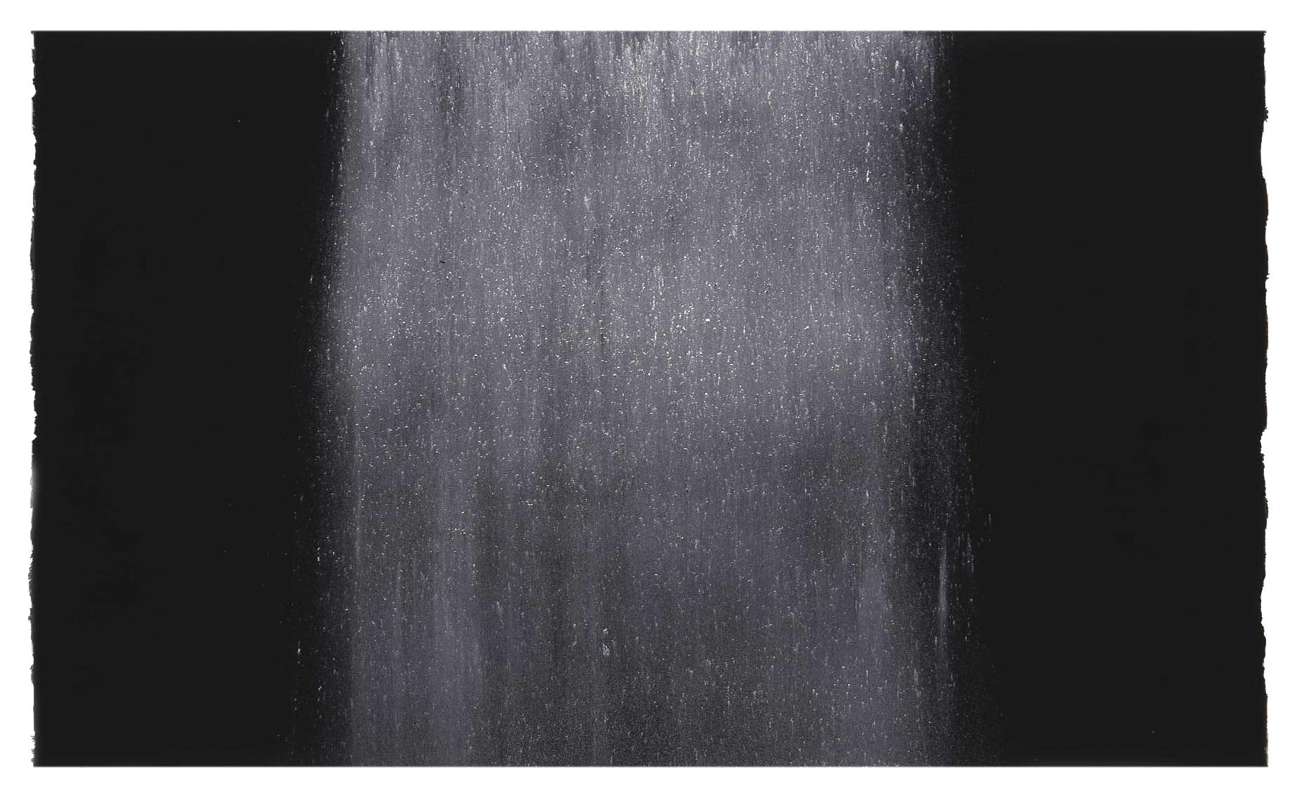 NOURISHING 1998  limestone powder on carbon deposit  77.0 x 55.7 cm   (private collection UK)