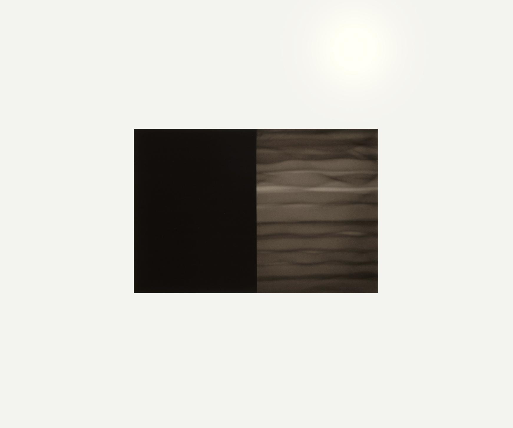 DRIFT (I)   1996  carbon deposit on 100% cotton fibre  29.0 x 34.3 cm  (private collection, UK)
